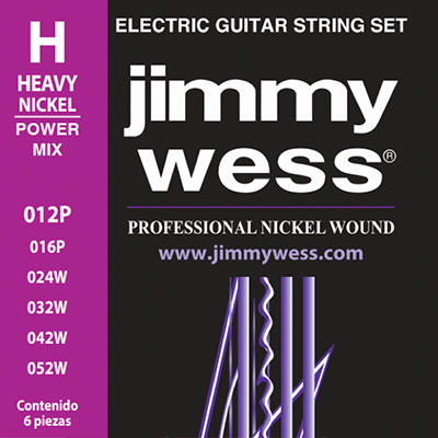 Professional Nickel Wound línea power mix